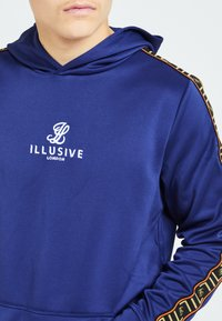 Illusive London Juniors - Hoodie - blue & orange - 3