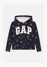 GAP - GIRL LOGO COZY - Zip-up hoodie - navy - 0