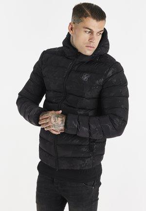 SIKSILK RIPSTOP ATMOSPHERE CAMO JACKET - Winter jacket - black