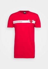 NBA CHICAGO BULLS TEAM LOGO TEE - Klubbkläder - red