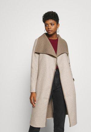 VIBIAS COAT - Płaszcz wełniany /Płaszcz klasyczny - natural melange
