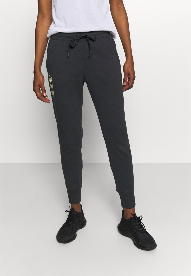 Under Armour - RIVAL PANTS - Joggebukse - black