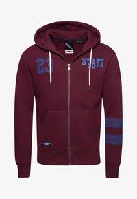 Superdry - Zip-up hoodie - deep port - 3