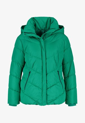 Winter jacket - electric green