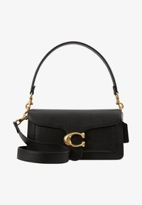 Coach - TABBY POLISHED SMALL FLAP BAG HANDBAG - Torebka - black - 5