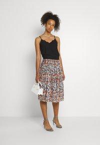 JDY - JDYBOA SKIRT - A-line skirt - black/light blue - 1