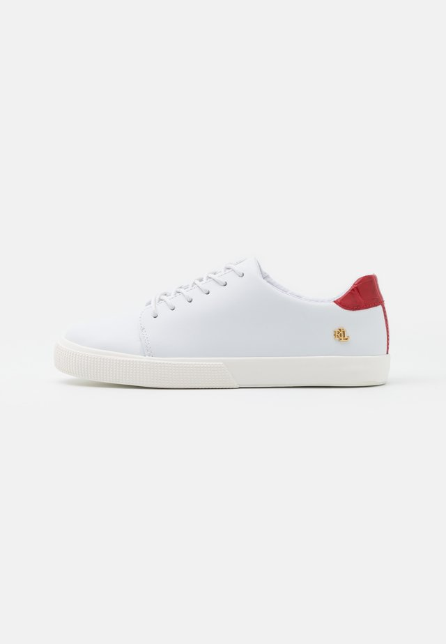 JOANA  - Sneakers laag - real white/candy red