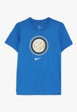 INTER MAILAND TEE EVERGREEN CREST - Club wear - blue spark