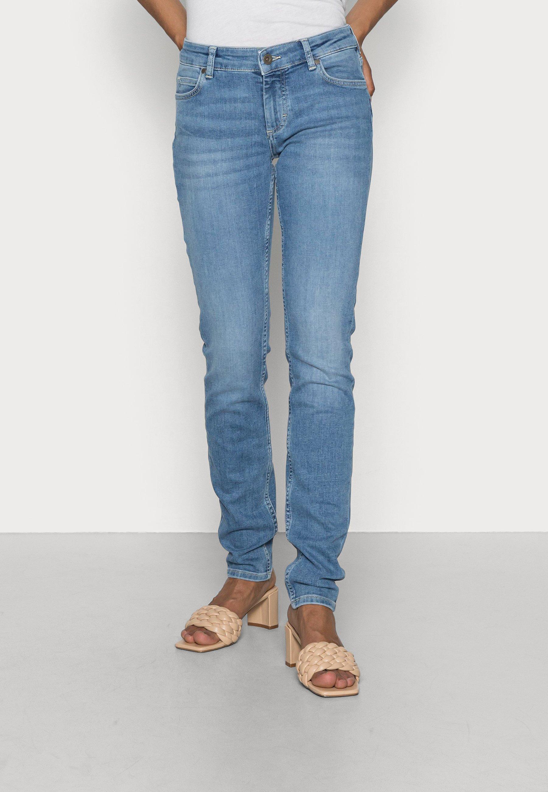 Women TROUSER MID WAIST REGULAR LENGTH - Jeans Skinny Fit