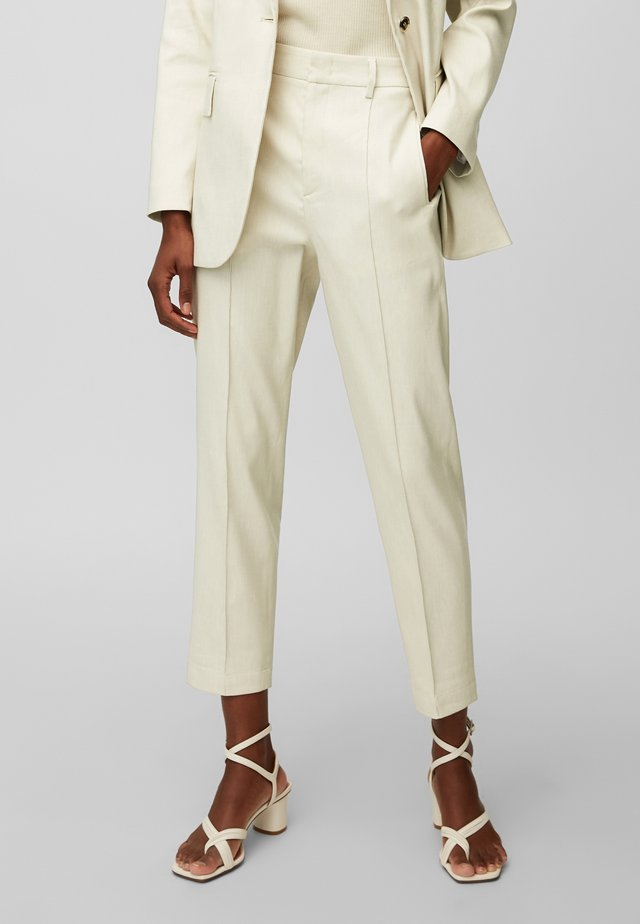 Trousers - clear white