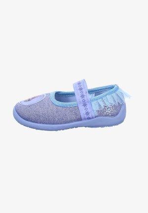DISNEY - Ankle strap ballet pumps - blau