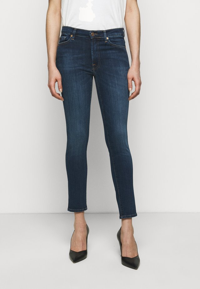 CROP ILLUSION NEVER ENDING - Jeans Skinny Fit - mid blue