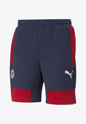 Sports shorts - peacoat tango red