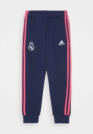 REAL MADRID SPORTS FOOTBALL PANTS - Fanartikel - dark blue/white