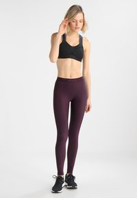Skins - DNAMIC LONG - Leggings - merlot - 1