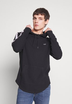 TAPED HOODS  - Felpa con cappuccio - black