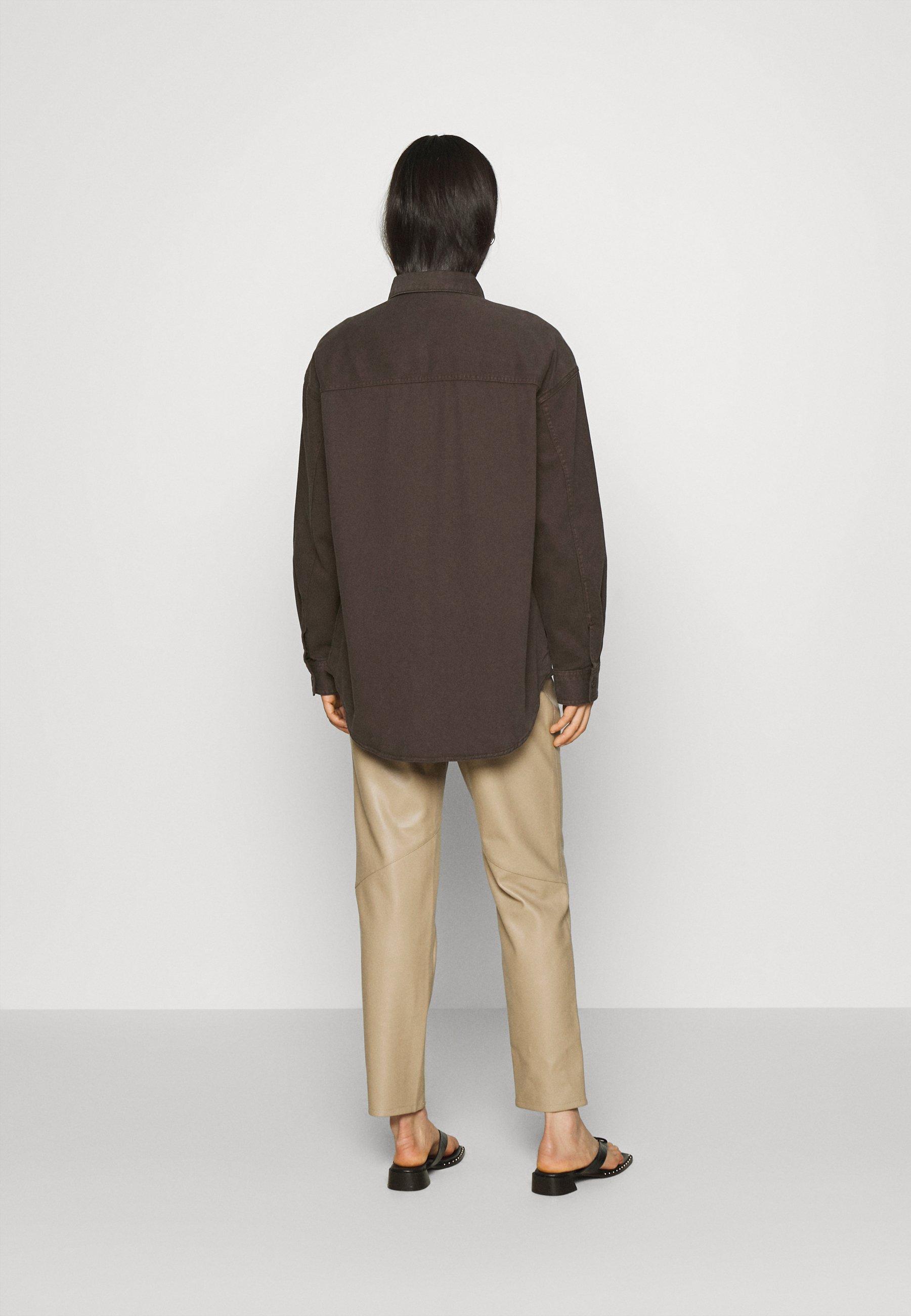 Monki CIM SCALE Bluser brown Zalando.no