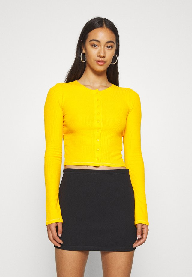 MINERVA LONG SLEEVE - Gilet - warm yellow