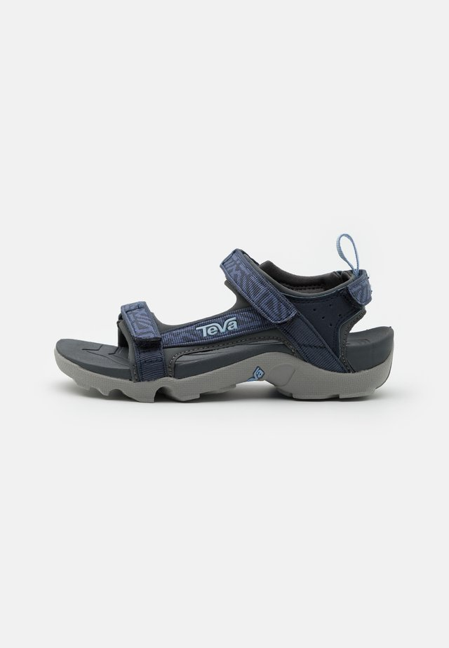 TANZA UNISEX - Outdoorsandalen - griffith total eclipse