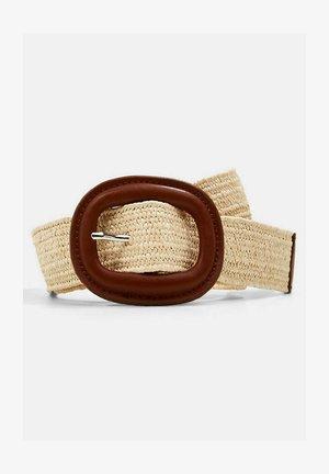 Belt - cream beige