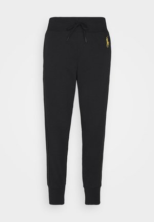FEATHERWEIGHT - Tracksuit bottoms - black