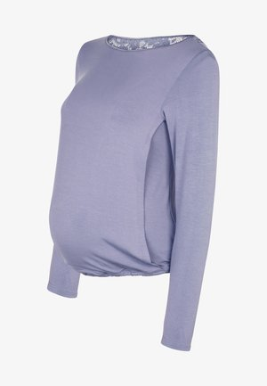 BREASTFEEDING TUNIC - Pyjamashirt - lilac