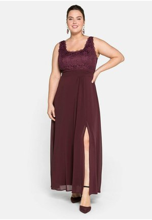Occasion wear - aubergine