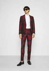 Twisted Tailor - LORRIS SUIT - Oblek - black/red - 1