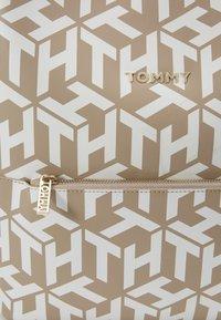 Tommy Hilfiger - ICONIC BACKPACK MONOGRAM - Rucksack - beige - 2