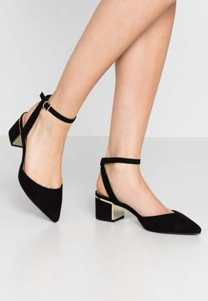 WIDE FIT  - Tacones - black