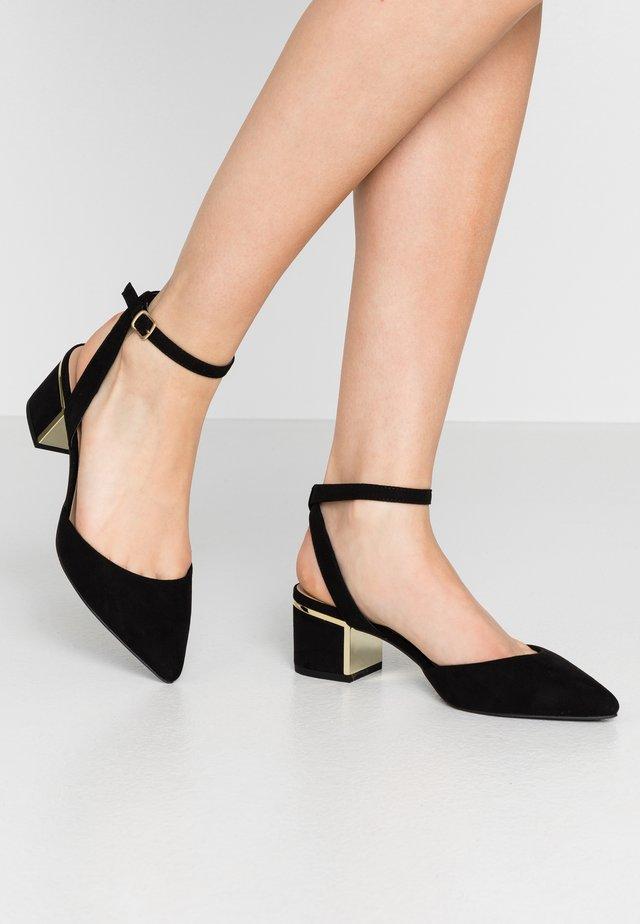 WIDE FIT  - Classic heels - black