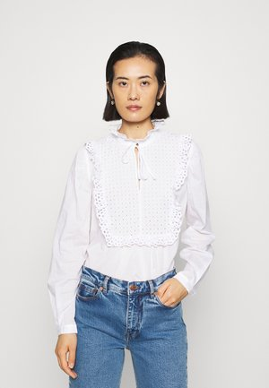 BLOUSE - Bluzka - white light