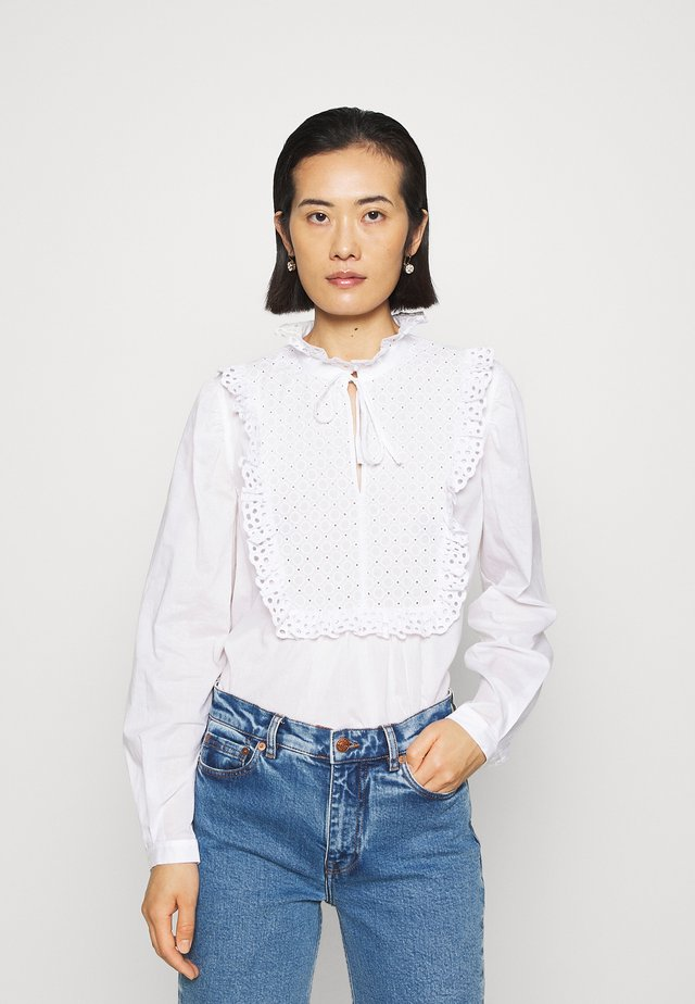 BLOUSE - Blusa - white light