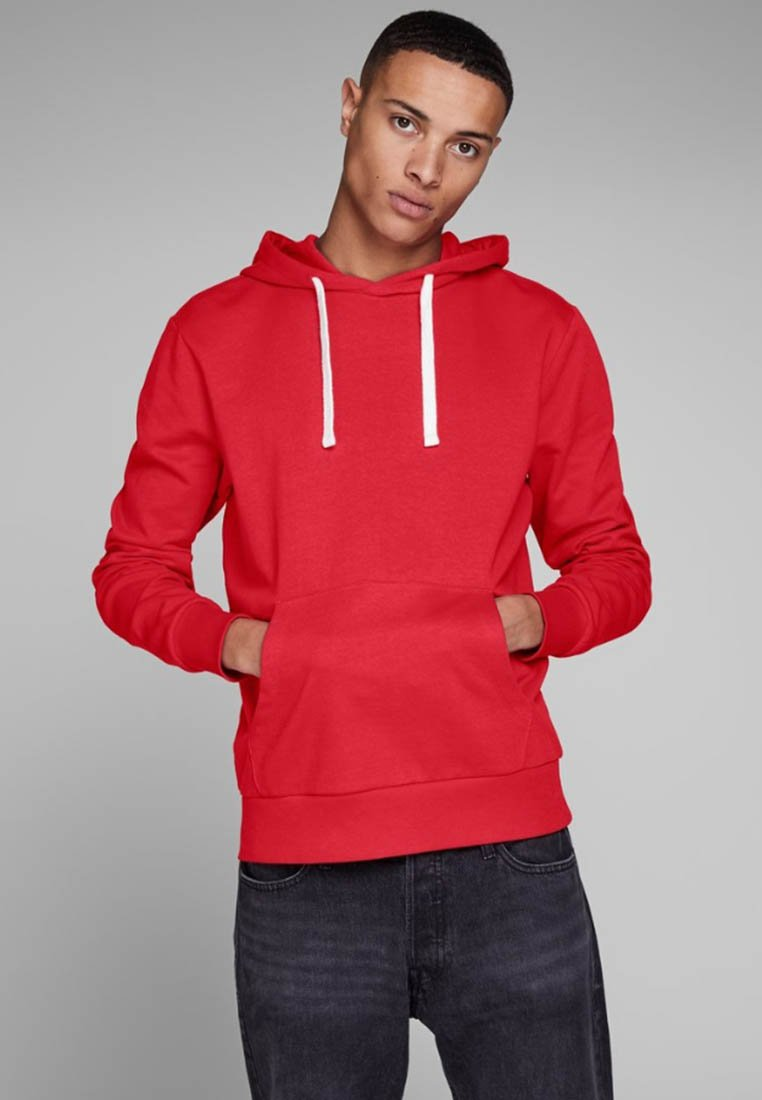Jack & Jones - Hoodie - tango red