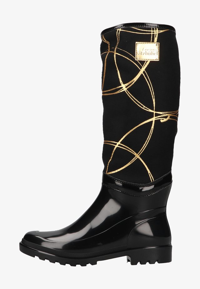 Laarzen - schwarz/gold