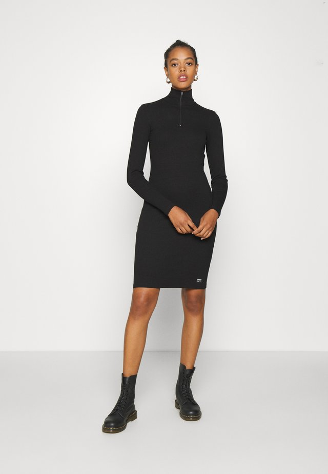 ELLY DRESS - Shift dress - black