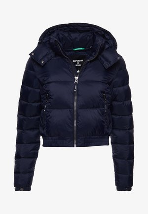 FUJI CROPPED HOODED - Winter jacket - eclipse navy