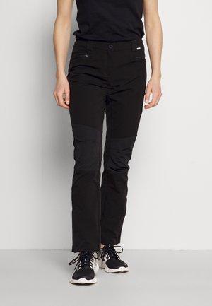 QUESTRA III - Pantaloni outdoor - black