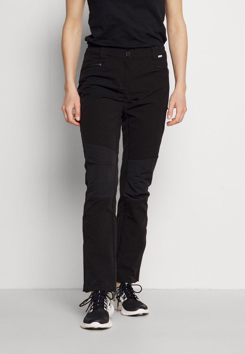 Regatta - QUESTRA III - Outdoor trousers - black