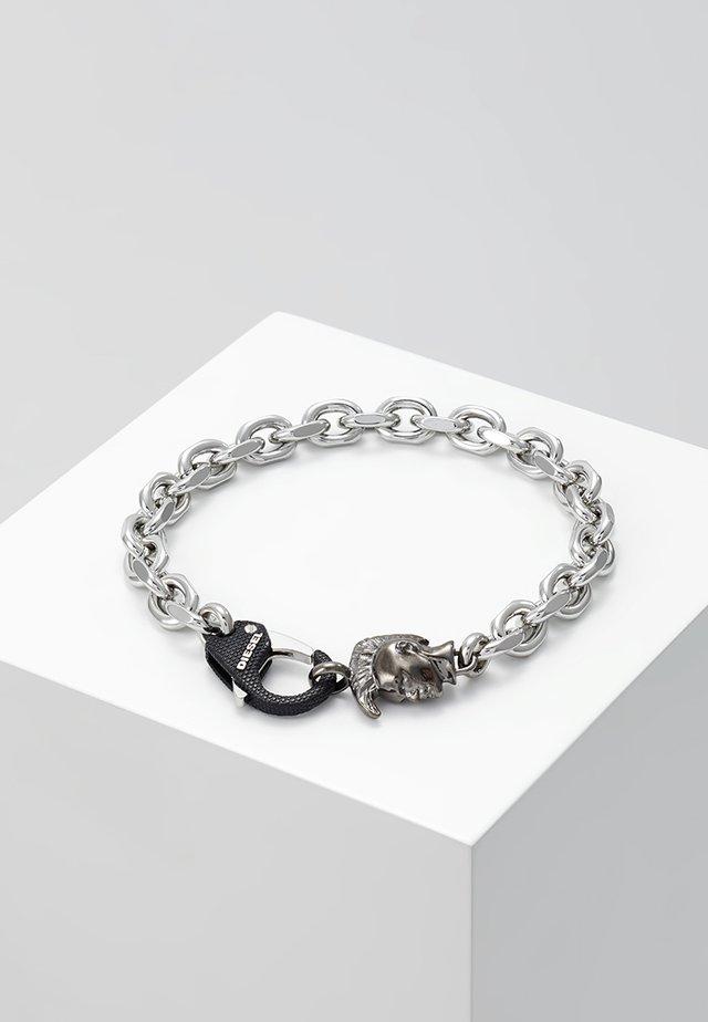 STEEL - Bracelet - grey/black/silver-coloured