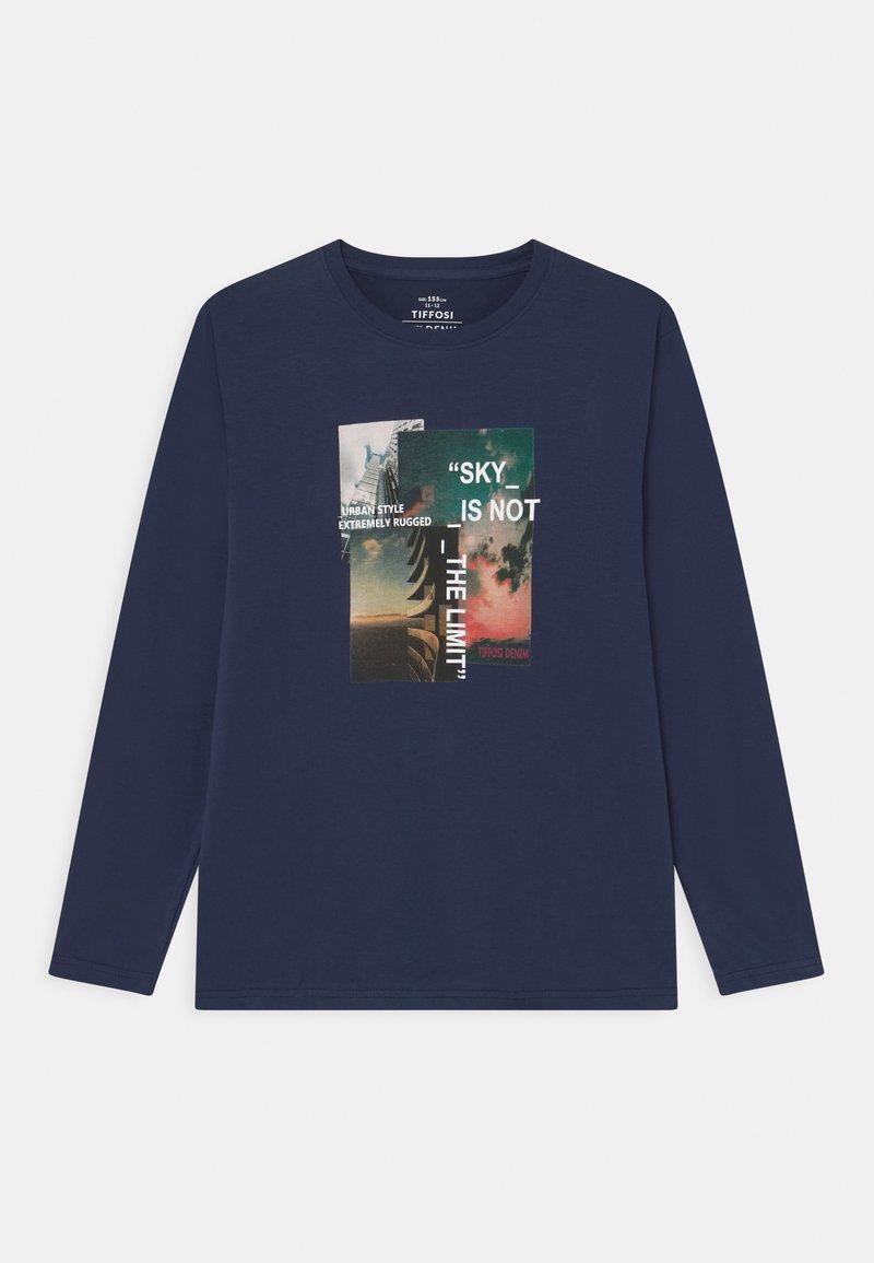 Tiffosi - AMERICA - Long sleeved top - blue