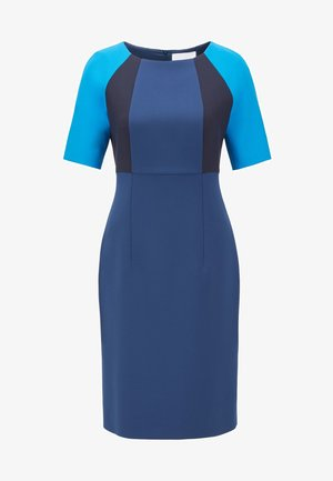 DOLOBUS - Shift dress - dark blue