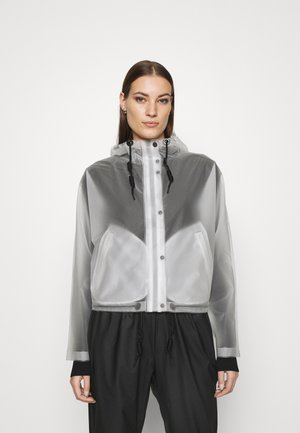 ORIGINAL CROP SMOCK - Waterproof jacket - white
