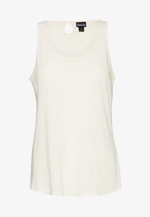 MOUNT AIRY SCOOP TANK - Toppe - white wash