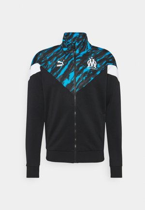 OLYMPIQUE MARSEILLE ICONIC GRAPHIC TRACK - Club wear - black/white