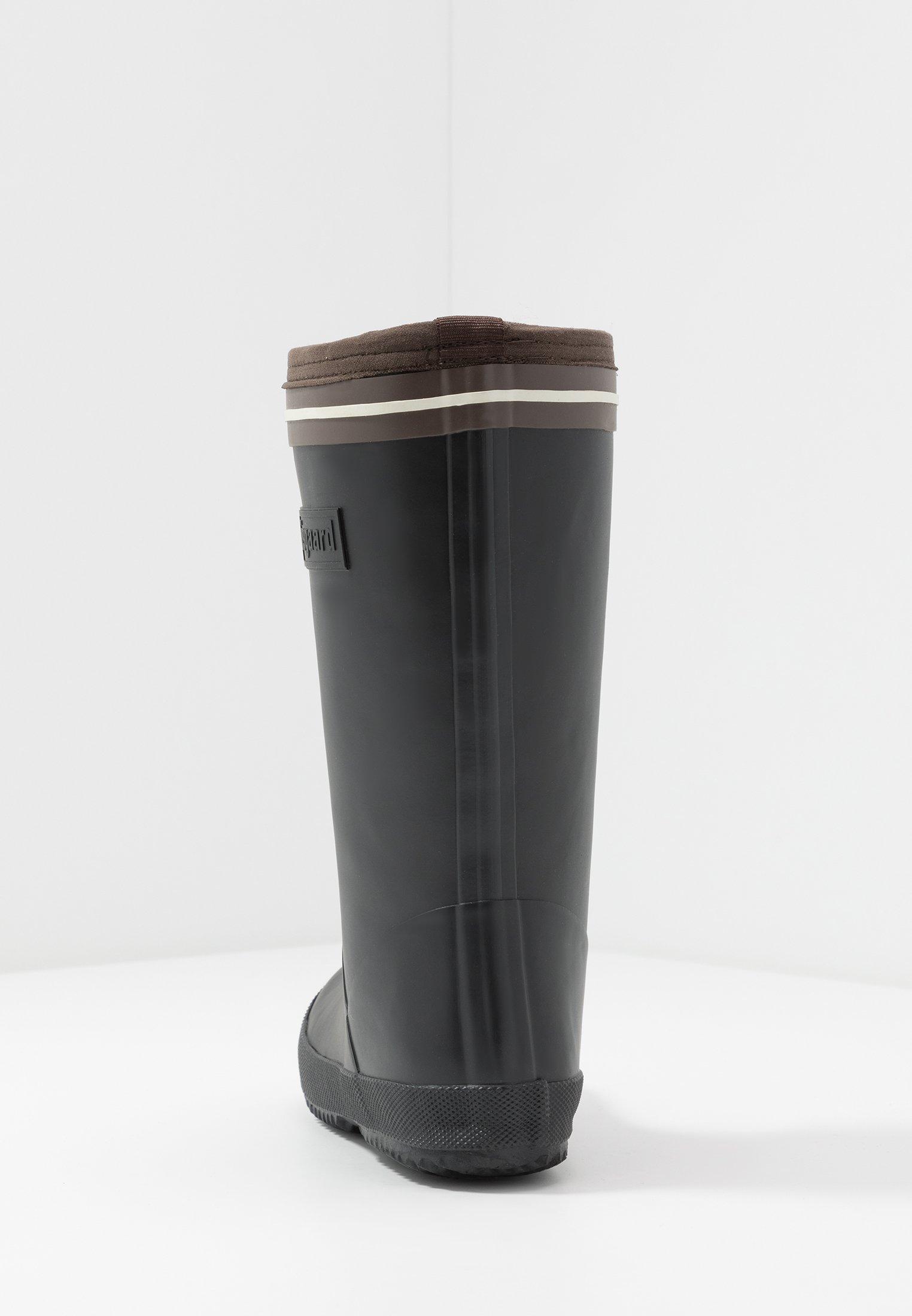 Bisgaard BOOT LACE THERMO Gummistövlar black Zalando.se