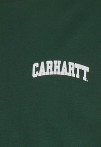 Carhartt WIP - UNIVERSITY SCRIPT - Print T-shirt - treehouse/white - 2