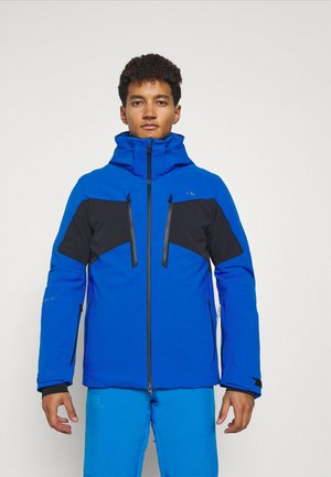 MEN EVOLVE JACKET - Ski jacket - aruba blue/black