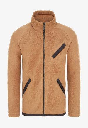 Fleece jacket - cedar brown