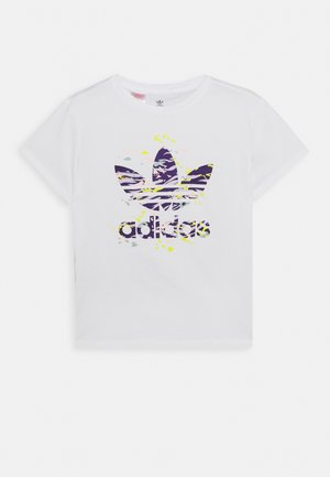 TREFOIL TEE - Camiseta estampada - white/multicolor